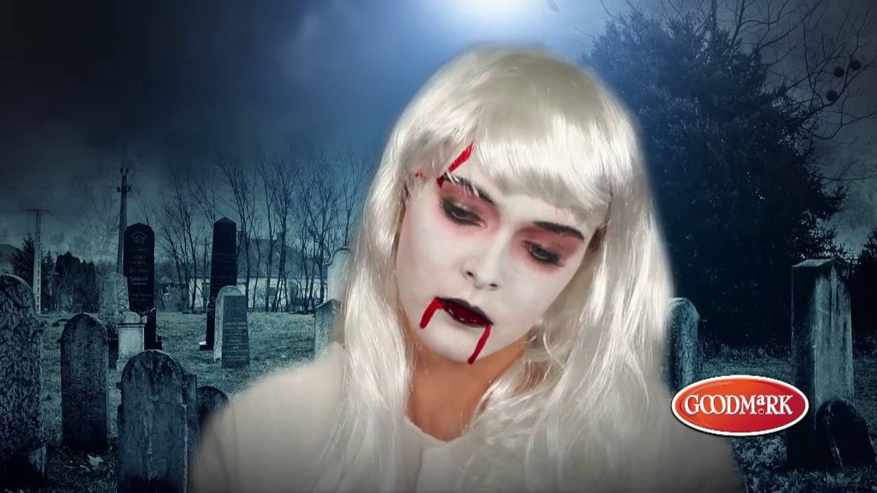 kit maquillage zombie adulte femme halloween youtube. Black Bedroom Furniture Sets. Home Design Ideas