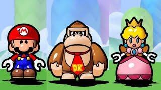 Mario Vs. Donkey Kong: Minis March Again - All Characters