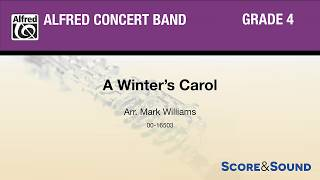 A Winter's Carol, arr. Mark Williams – Score & Sound