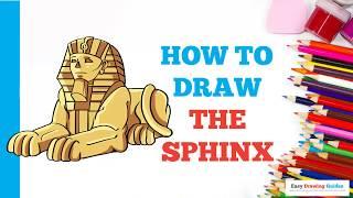 sphinx draw easy drawing beginners steps tutorial