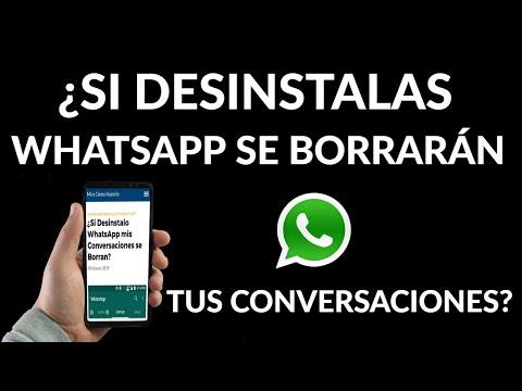 Qué Sucede con mis Conversaciones al Desinstalar WhatsApp