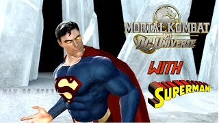 Mortal Kombat VS DC Universe Playthrough - Superman
