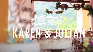 Arte Eventos - Matrimonio Karen y Julian - Bodas espectaculares