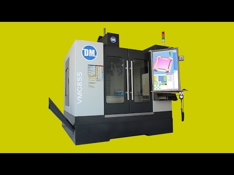 "Vertical Machining Center VMC | 39"" 4K Touch Screen CNC 