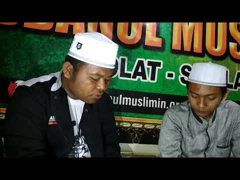 Proses pembuatan lagu surat cinta buat nabi muhammad