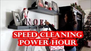 CLEAN WITH ME | STAY AT HOME MOM | POWER HOUR
