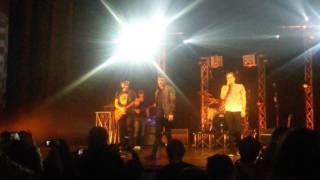 Heffron Drive feat. Logan Henderson -  BTR Medley live @ Turin March 13, 2016 YouTube Videos