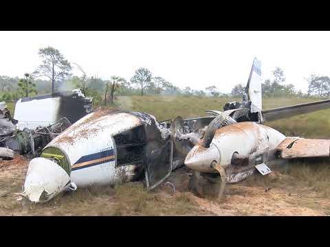 Drug Plane Crash Lands in Remote Area of Northern Belize District
