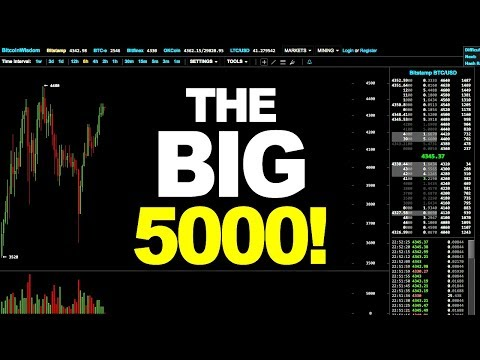 Bitcoin Price Technical Analysis - THE BIG 5000! (August 25th 2017)
