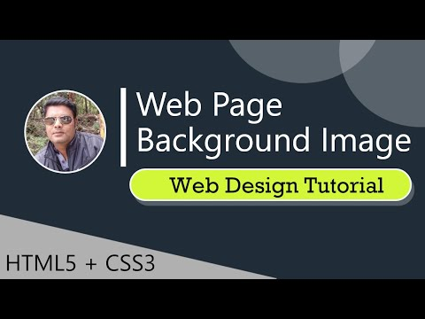 Website Background | How To Make A Website Using Html And Css| Webdesign Tutorial