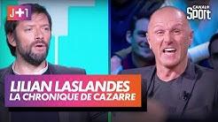 Julien Cazarre avec Lilian Laslandes !