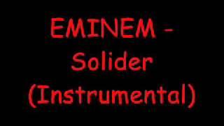 Eminem - Soldier (Instrumental)