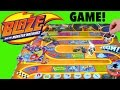 Blaze and The Monster Machines Monster Dome Challenge Board Game!  FAMILY GAME NIGHT!