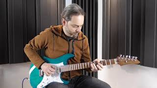 Greg Howe - Tempest Pulse theme cover by Ivan Avicolli