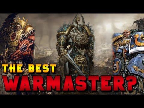 Should Horus Have Been the Warmaster? (Sanguinius, Guilliman, El'Johnson)   Warhammer 40,000