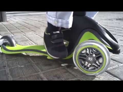 533625eedf1 Globber - Evo 5 in 1 Scooter - YouTube