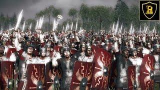 Преторианцы VS Царские Пельтасты Total War: ROME 2