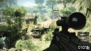 Sniper Mission - Upriver - Battlefield: Bad Company 2