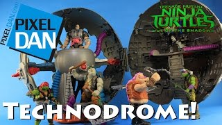 Technodrome Teenage Mutant Ninja Turtles Out of the Shadows Movie Playset Video Review