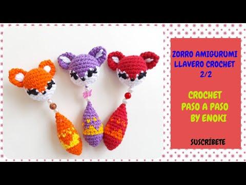 Fox Amigurumi, Mr. Furu - Free Crochet Pattern | Craft Passion | 360x480