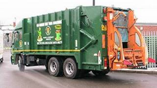 Rude, Dangerous and illegal bin lorry - Brighton, East Sussex [Council Complaint evidence]