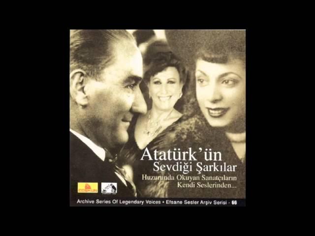 Atatürk'ün Sevdiği Şarkılar - Cana Rakibi Handan Edersin - Müzeyyen Senar