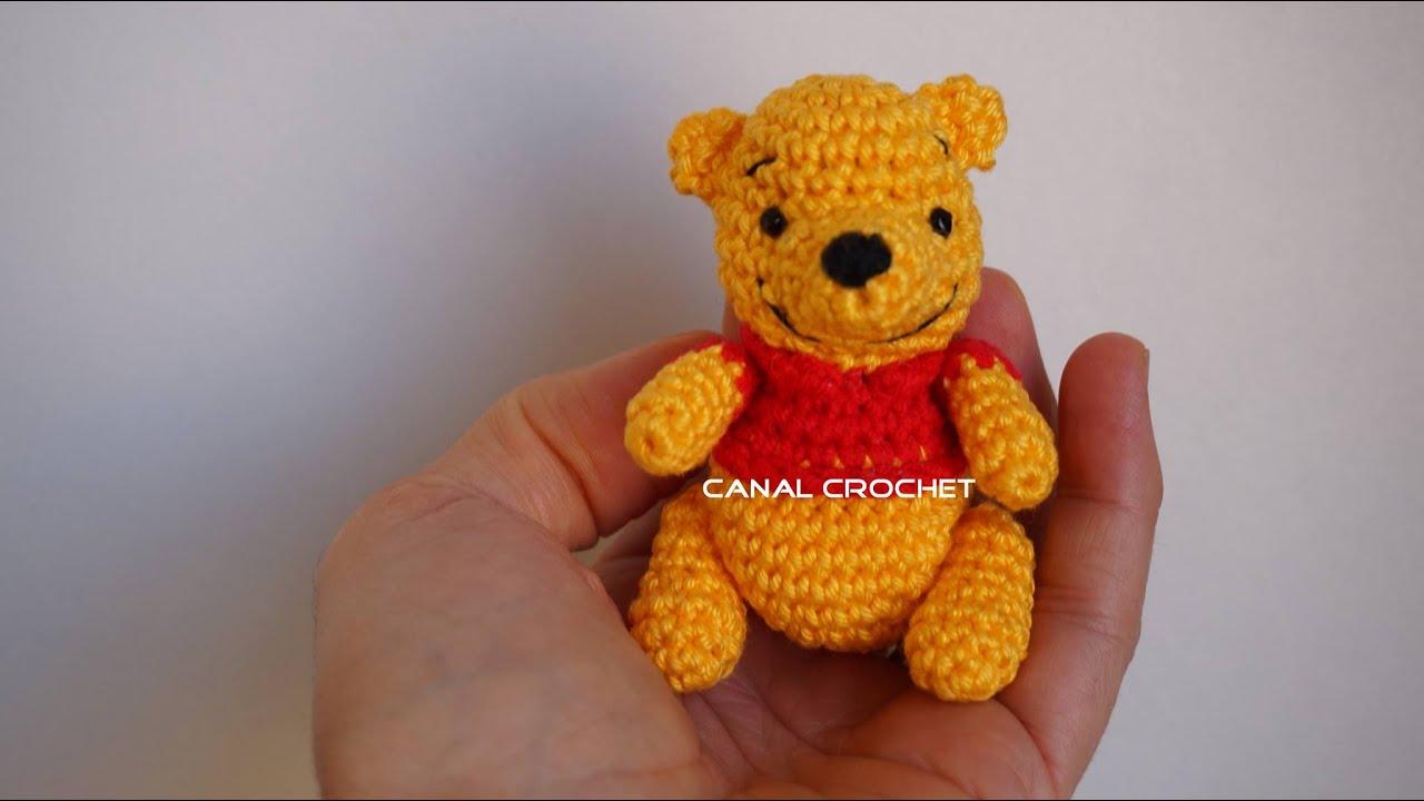 Osito Amigurumi Tutorial Canal Crochet : winnie de pooh amigurumi tutorial - YouTube