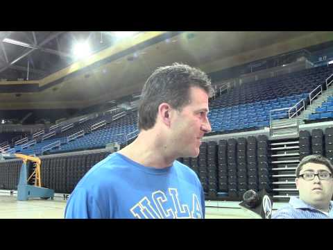 Steve Alford talks about UCLA