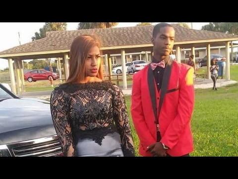 4677210c1ed Florida Teen Wears Prom Dress Honoring The Black Lives Matter Movement