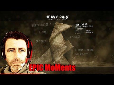 Heavy Rain: Rápido Análisis... Sesión crítica + El Taxidermista