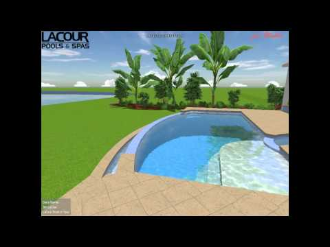 Barnes Residence III - Isle of Palms Jacksonville, FL 32250 by LaCour Pools and Spas