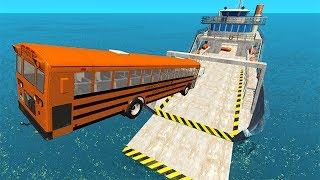 Epic High Speed Car Jumps #5 BeamNG drive
