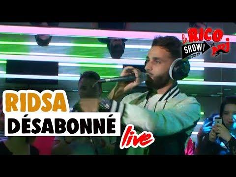 """Ridsa """"Désabonné"""" Live - Le Rico Show Sur NRJ"""