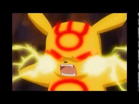 Pokemon Pikachu with Groudon Blue Ball