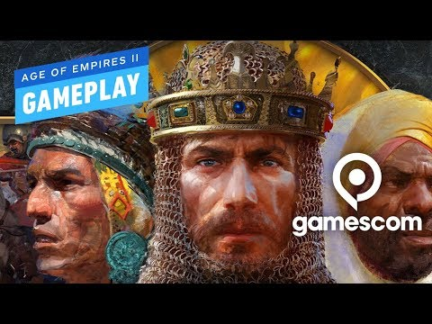 11 Minutes Of Age Of Empires 2 Definitive Edition Gameplay - Gamescom 2019