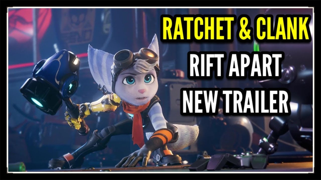Ratchet Clank Rift Apart Announcement Trailer Ps5 Youtube