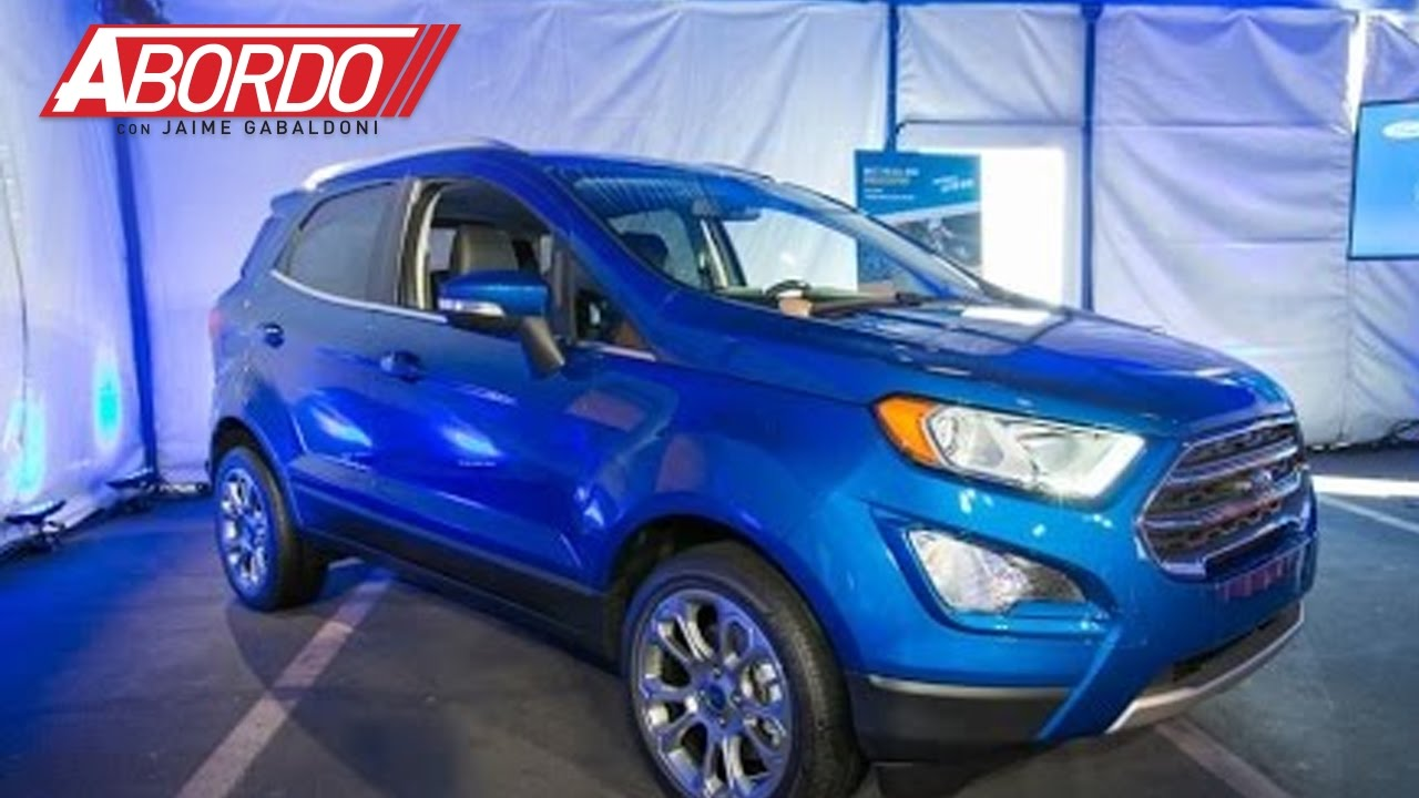 ford muestra en los ngeles 2016 a su ecosport 2018 youtube. Black Bedroom Furniture Sets. Home Design Ideas