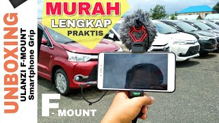 Unboxing Ulanzi F-Mount Smartphone Grip - Murah tapi lengkap