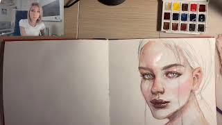Рисуем и болтаем:  как я рисую из головы, моральный и физический возраст, как поставить себе цену