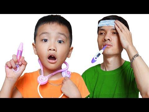 Sick Song Nursery Rhymes Daddy Songs 病気の歌 Prince Kids TV