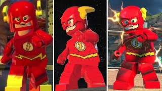 Evolution of the Flash in LEGO DC Videogames