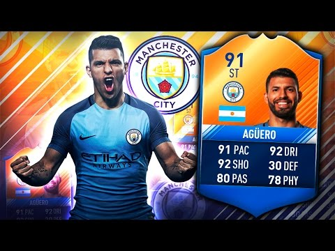 MOTM AGUERO! IS HE WORTH OVER 1,000,000 COINS? FIFA 17 ULTIMATE TEAM