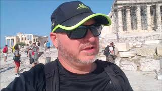 ATHENS, GREECE Episode 1! Backpacker Mike explores Athens and the ancient Acropolis