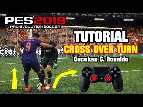 PES 2019 ⚽ | TRIK CROSS OVER TURN (Skill Ronaldo Chop)
