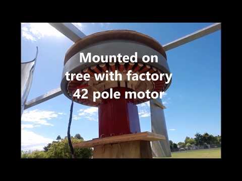 SmartDrive Vertical Axis Wind Turbine (VAWT)