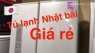 68🇯🇵 Tủ lạnh Nhật bãi giá rẻ