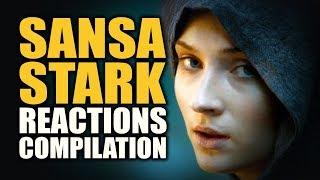 Game of Thrones SANSA STARK Reactions Compilation
