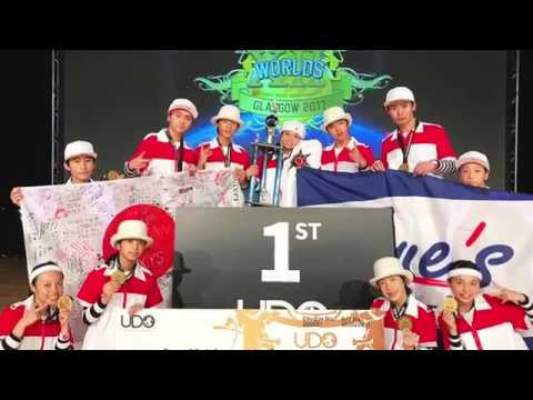 UDO 2017 WORLD FINAL TEAM KAGOSHIMA 世界制覇達成!