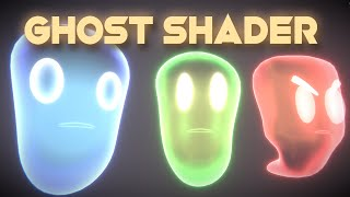 HOW TO CREATE A GHOST in Unity - Shader Graph Tutorial