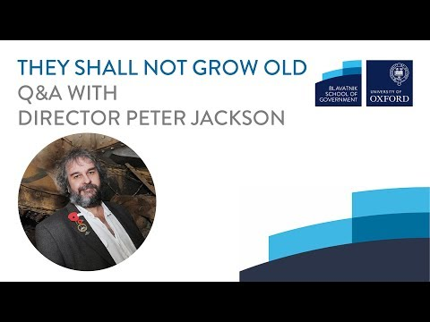 They Shall Not Grow Old: Peter Jackson Q&A